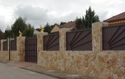 Muros piedra for Piedra para muros exteriores precio